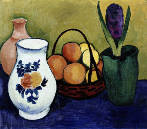 The White Jug With Flower And Fruit by Swedish OneSheet Poster