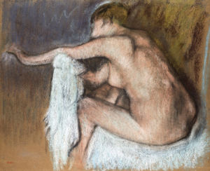 Woman Drying Her Arm by Edgar Degas