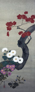 Autumn Flowers I by Suzuki Motonaga Kiitsu