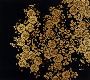 Chrysanthemums by Uematsu Hobi