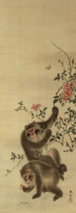 Monkeys And Roses by Mori Sosen
