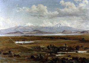 Valle De Mexico by Jose Maria Velasco