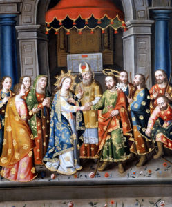 Marriage Of The Virgin by Esponsales de la Virgen