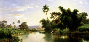 Landscape; Paisaje by Esteban Chartrand
