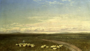 Landscape In Carneiros by Jose Maria Velasco