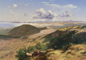 The Valley Of Mexico by Jose Maria Velasco