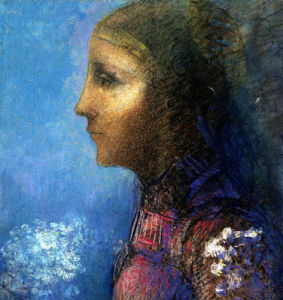 Profile: Le Drapeau by Odilon Redon