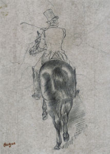 Spurring On The Horse by Edgar Degas