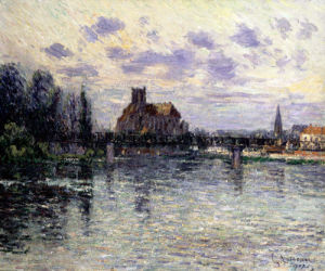 Auxerre Cathedral by Gustave Loiseau