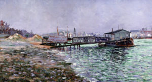 La Seine by Paul Signac