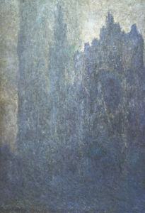 Rouen Cathedral In The Fog by Claude Monet