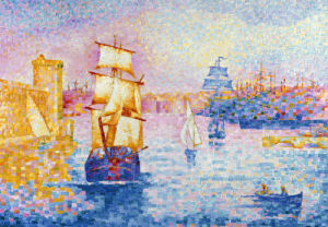 Port De Marseille by Henri-Edmond Cross