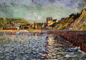 Le Port-En-Bessin (Calvados) by Paul Signac