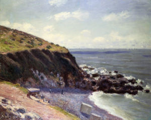 Lady's Cove - Langland Bay by Alfred Sisley