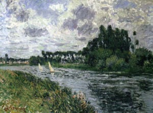 The Regatta by Gustave Loiseau