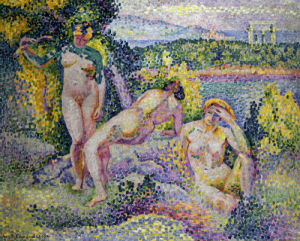 Nymphes by Henri-Edmond Cross