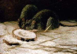 Two Rats by Vincent Van Gogh