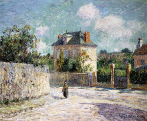 La Petite Maison Bourgeoise by Gustave Loiseau