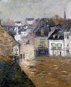 Light Rain, Pont-Aven by Gustave Loiseau