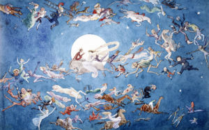 A Dance Round The Moon by Charles Altamount Doyle