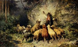Feeding Time by Otto Friedrich Gebler