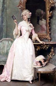 Vanity by Raimundo De Madrazo Y Garreta