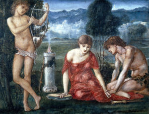 A Sacrifice To Hymen by Sir Edward Burne-Jones