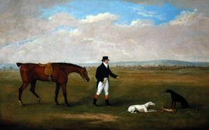A Gentleman Out Coursing by John Sartorius