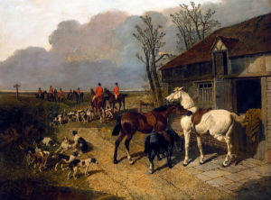 The Meet by John Frederick Herring