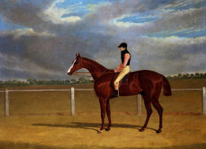The Racehorse 'The Colonel' With William Scott Up by John Frederick Herring