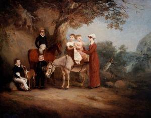 The Marriott Family by John Ferneley