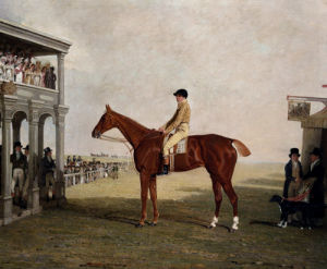 The Duke Of Westminster's Filly 'Defiance', 1813 by Benjamin Marshall