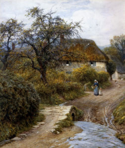 Hill Farm, Symondsbury, Dorset by Helen Allingham