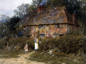 Old Surrey Cottage (II) by Helen Allingham