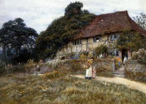 At Stedham Near Midhurst by Helen Allingham