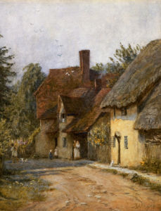 East Hagbourne, Berkshire by Helen Allingham