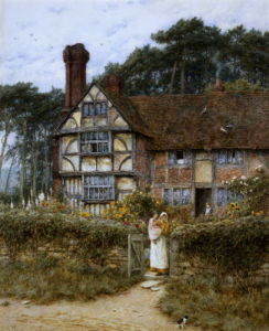 Unstead Farm, Godalming by Helen Allingham