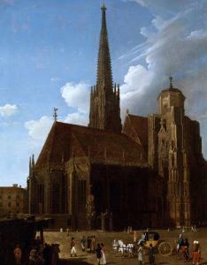 View Of St by Antonio de Pian