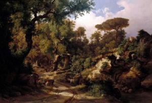 A Wooded Landscape by Carl Marko