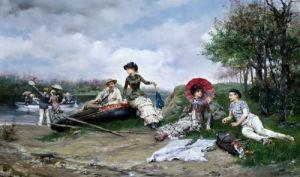 The Picnic by Ludovico Marchetti