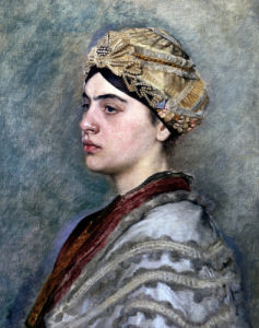 A Jewish Bride by Isidor Kaufman