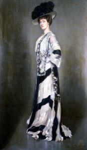 Portrait Of An Elegant Woman by Antonio de la Gandara
