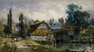 Maple Durham Mill by George Arthur Fripp