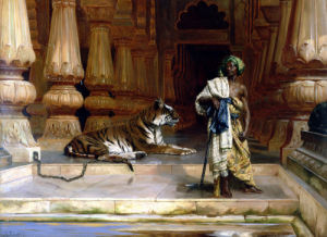 The Palace Guards by Rudolf Ernst