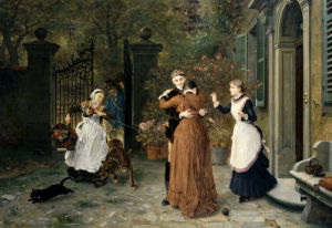 The Reunion by Ludwig Knaus