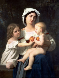 The Oranges by Adolphe William Bouguereau