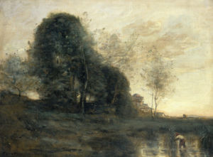 Memory Of Italy by Jean-Baptiste-Camille Corot