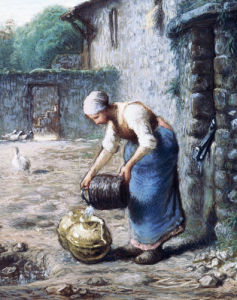 The Woman At The Well by Jean Francois Millet