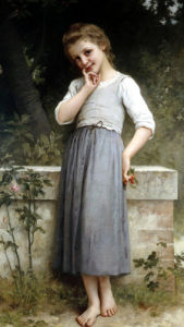 The Young Cherry Picker by Charles Amable Lenoir