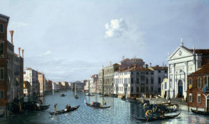 The Grand Canal Looking South East From The Santa by William James